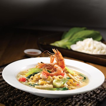 Fried Kuey Teow with Egg Gravy_Rp49