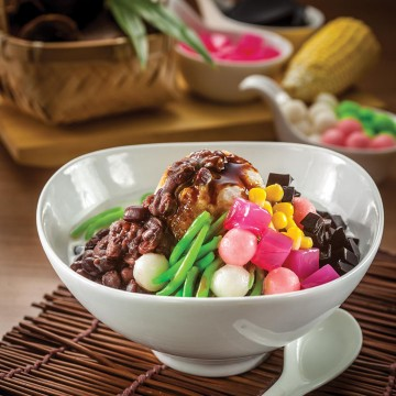 OLDTOWN Ice Kacang with Gula Melaka(Rp33)