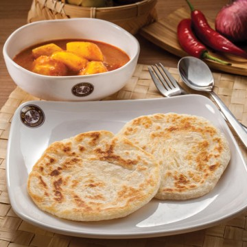 Paratha with Curyy Potato(Rp34)
