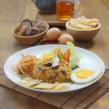 Vegetarian Fried Rice_Rp32
